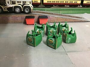 1:50 Scale, 3D Printed Travis Perkins Ton Bag With Load.  6 pkt