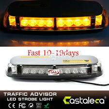 24 LED Car Roof Top Amber Flashing Warning Hazard Beacon Strobe Light Lamp Bar