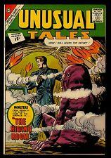 Charlton Comics UNUSUAL TALES #35  The Hiding Room VFN 8.0