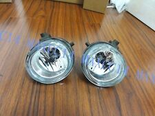 A Pair Clear Driving Fog Light Lamps with Bulbs For Mazda 5 2006-2010