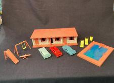 Vintage Plasticville O Gauge Mid Century Motel