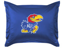 New Kansas University Ku Jayhawks Jersey Pillow Sham Lr