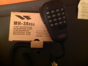 GEUINE YAESU MH-36 E8J Handheld MIC with Dtmf/  FT-817/857/897 -3 year warranty