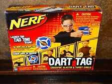 19327 New NERF DART TAG GUN ~ Pistol  with Shield Ammo & Glasses nib