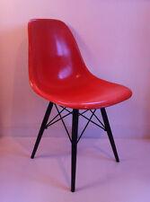 Chaise Orange de C.R. Eames  Vintage Herman Miller