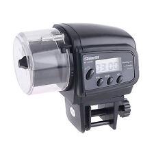 Digital Automatic Fish Food Container Aquarium Feeder Dispenser Timer SH I3 S7M8