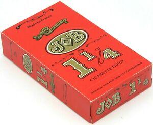 JOB Orange 1 1/4 Slow Burning Cigarette Rolling Papers 1.25  24 Booklets