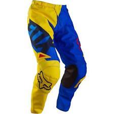 NEW FOX Racing MX Motocross 180 RACE Pants Blue/Yellow Youth Kids Boys Size 22 6