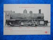 Machine de Trains Mixtes, Construite en 1896.  ( Cie de l' Ouest ).