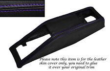 PURPLE STITCHING SEAT BELT BINNACLE SKIN COVER FITS TRIUMPH STAG MK1 MK2 70-77