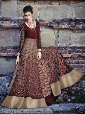 Indian Salwar Kameez Pakistani Designer Anarkali prom maxi dress punjabi suits