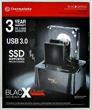 "Thermaltake BlacX Duet 2.5/3.5"" SATA USB 3.0 External Hard Drive Docking Station"