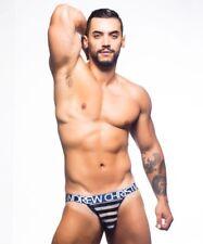 Men's ANDREW CHRISTIAN NAUTICAL NET JOCK GENUINE 90328 Underwear S-M-L-XL