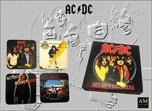 AC/Dc - Coaster - 4er Set - Coasters New/Original Packaging