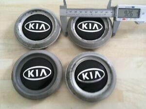 Set of 4  Kia Sorento 93mm wheel  centre caps  529603E010/030 # JL261
