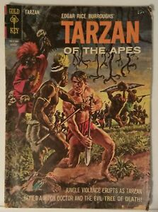 TARZAN OF THE APES NO. 151 - GOLD KEY - AUGUST 1965