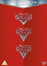 Cars 1 2 3 One Two Three (Owen Wilson, Paul Newman) New Region 2 DVD Box Set