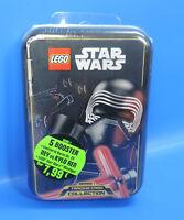 Lego® Star Wars Tin Box Kylo Ren  Limitierte Karte Nr.23  + Figur +5  Booster