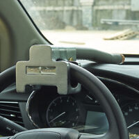 Car Vehicle Top Mount Steering Wheel Security Lock With Keys Anti-Theft Devices