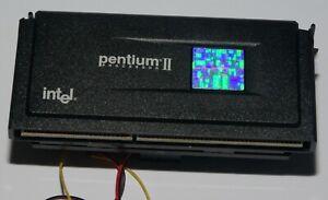 Processeur Intel Pentium II 400 Mhz - SL2U6 Slot 1 - Avec ventirad - Fonctionne