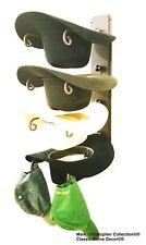 American Made Cowboy Cool Hat Rack Rust