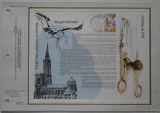 Document philatélique CEF 476 1er jour 1978 Championnat du Monde de gymnastique