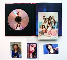Twice SANA Signal 4th Album ver.A CD+Official Photocard 3pc+Photo Post card Set