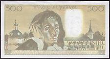 500 Francs France banknote  - Banconota da 500 Franchi Francesi