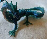 Blue Sea Dragon Figure   Safari Ltd Mythical Realms Fantasy Series 2007