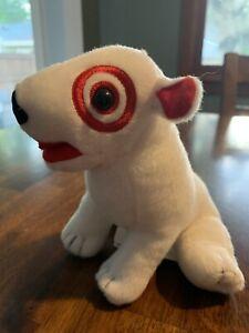 Target Bullseye Plush Dog -Blank