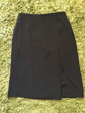 Ladies Uniqlo Black Stretch Pencil Skirt, Workwear, size 8