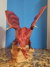 """RED DRAGON STATUE FROM ARH STUDIOS -18"""" LONG x 15"""" TALL - RARE - #47/100  - MINT"""