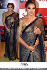 Indian saree Designer Silk Wedding Wear Women Ethnic Saree Bollywood with Blouse