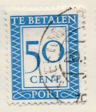 Holland 1930 Early Issue Fine Used 50c. 129803