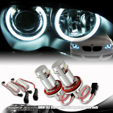 2x 3W 7000K White LED Angel Eye Halo Bulbs For BMW E82/E87/E90/E93/E60