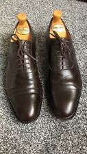Mens CHURCHS 'Kentford' Brown Leather Shoes Size 9