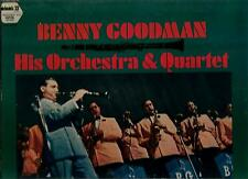 BENNY  GOODMAN  HIS ORCHESTRA AND QUARTET * LET'S DANCE * RECORDED LIVE IN JAPAN