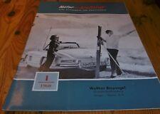 zeitschrift für kraftfahrer motor und kraftstoff  heft 1/1960 titelbild 300 sl