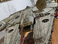 More details for large scale millennium falcon model with working lights & stand