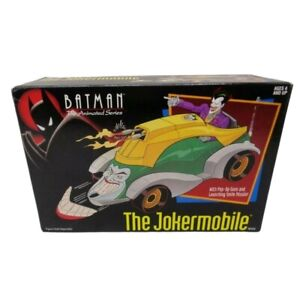 Batman The Animated Series The Jokermobile With Launching Smile Missile (NIB)