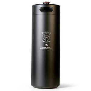 Mini Stainless Steel Growler Ss Keg 10l 304 black Home Brew