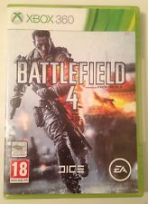 BATTLEFIELD 4 Microsoft XBOX 360 Complete Game 2013 PAL 18+ First Person Shooter