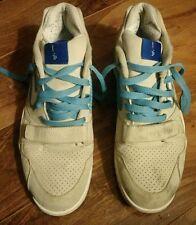 Nike Air Trainer II Tecmo Bo Light Bone / Scuba Blue Size 9 RARE