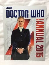Doctor Who The Official Annual 2015 BBC Hardback Book