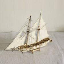 1:120 Maßstab Holz Segelboot Schiff Boot Modell Büro Desktop Dekor Gesch Kinder