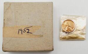 1952 U.S. Mint Proof Set in Original Mint Cellophane & Original Box