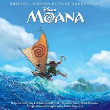 MOANA Disney Soundtrack CD NEW 2016