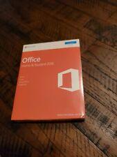Microsoft Office Home and Student 2016 Windows PC Key Card- English Eurozone