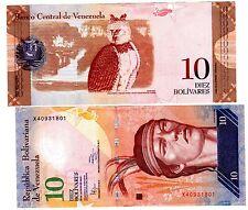 VENEZUELA Billet 10 BOLIVARES 2014 P90 HIBOU UNC NEUF