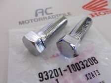 HONDA GL 1000 gl1 parti aggiuntive viti ammortizzatori screw shock Chrome Lower